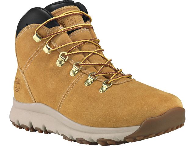 buy popular f382a c109e Timberland World Hiker Mid Shoes Herren wheat suede